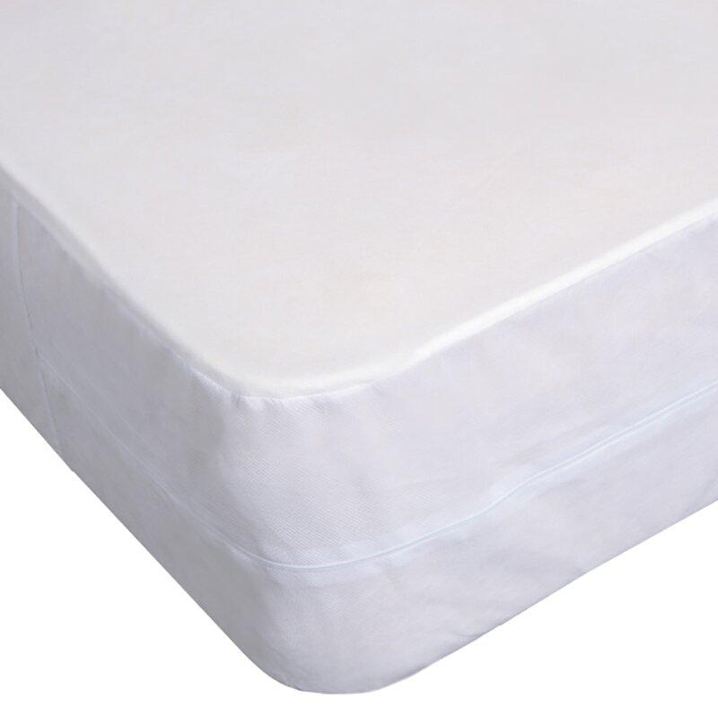 Bed Bug Proof Box Spring Encasement Hypoallergenic Mattress Protector