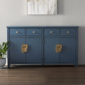 Carney 4 Drawer 4 Door Sideboard by Brayden Studio