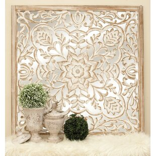 Beautiful Carved Wooden Wall Decor