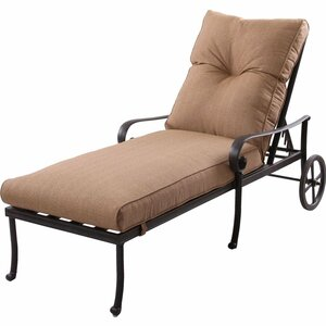 Santa Anita Chaise Lounge with Cushions