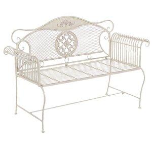 Sitzbank aus Metall von Home & Haus