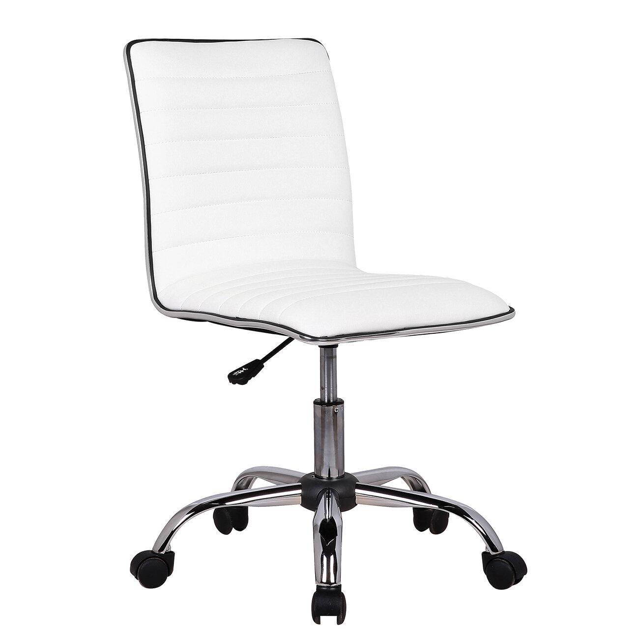 Ordinaire Orren Ellis Fabricio Adjustable Modern Swivel Desk Chair U0026 Reviews | Wayfair