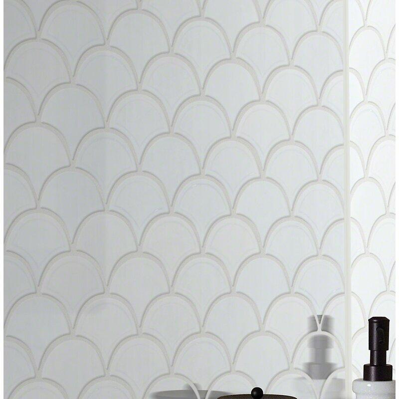 Shaw Floors Victoria 1 8 X 1 8 Ceramic Mosaic Tile Wayfair