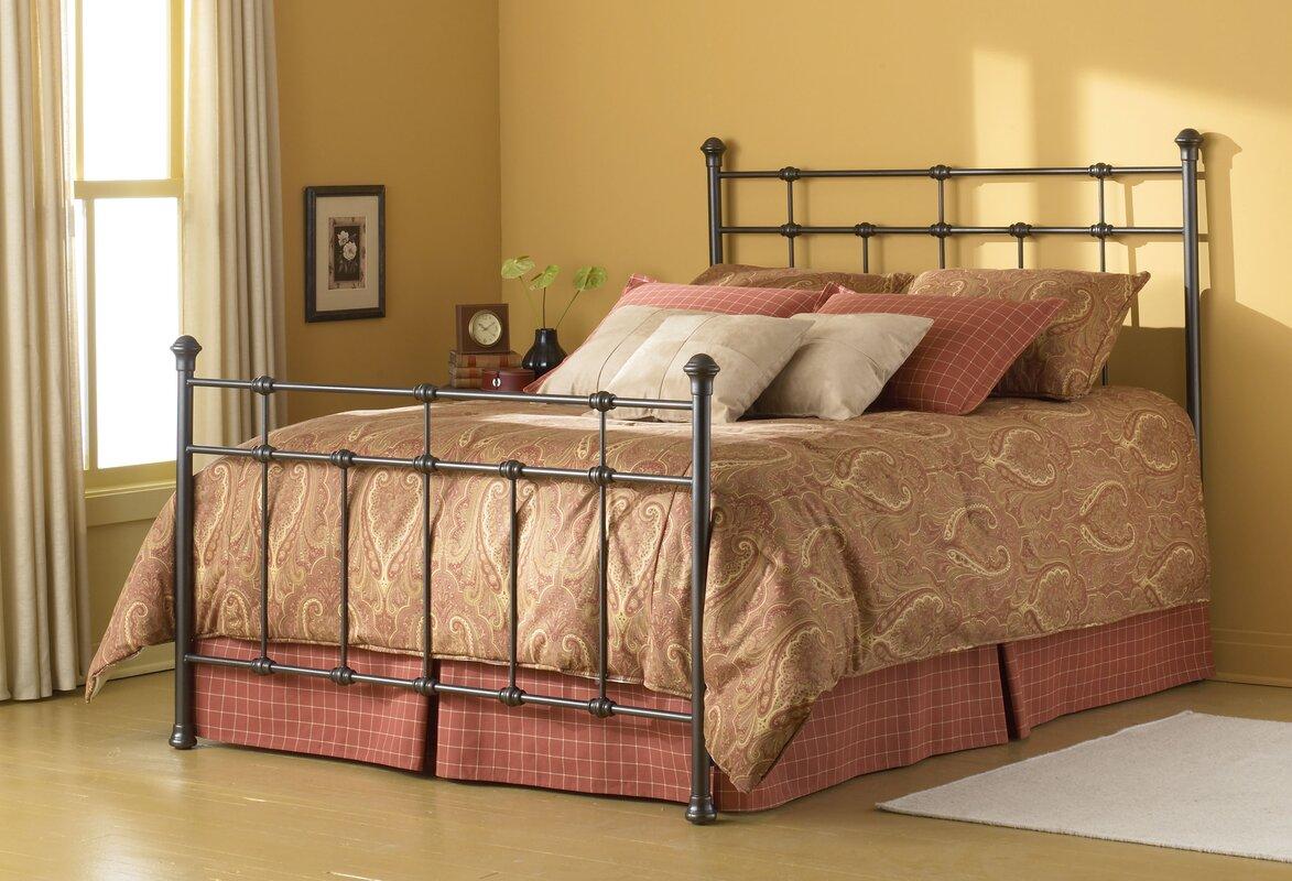 Antique Iron Bed Queen - Leavitt panel bed