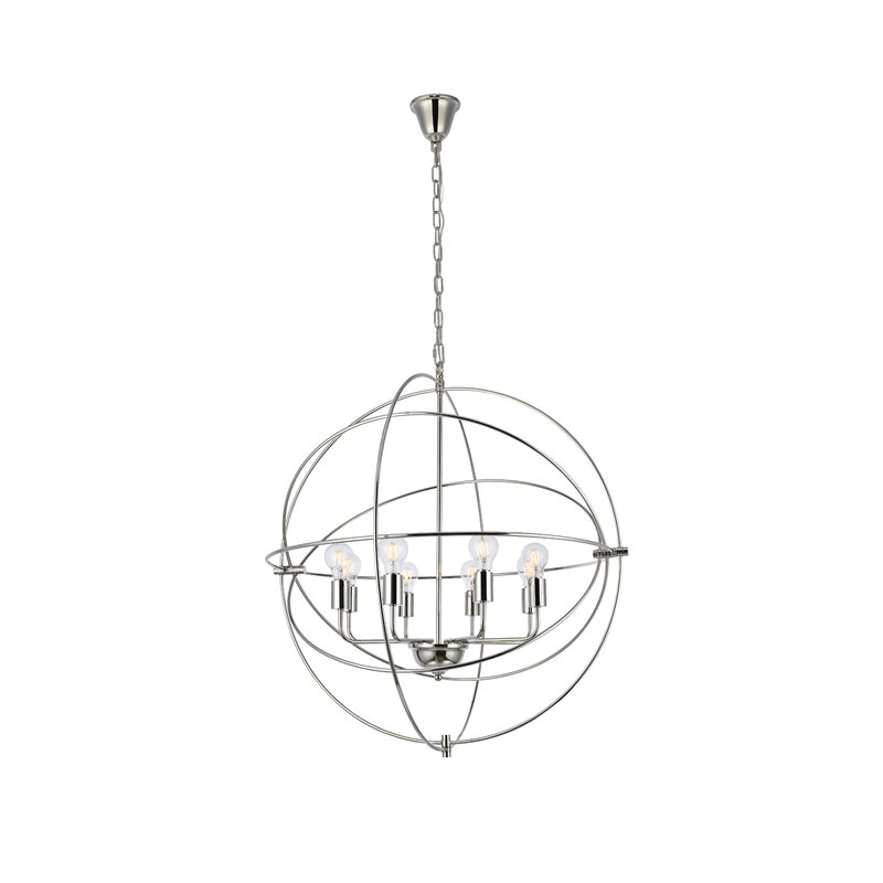 Hamby 8 Light Chandelier Reviews