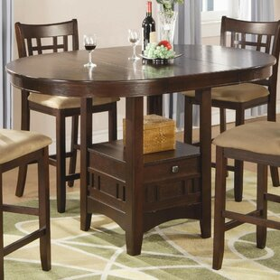Jeffords Counter Height Extendable Dining Table