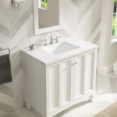 Kohler Verticyl Rectangular Undermount Bathroom Sink With