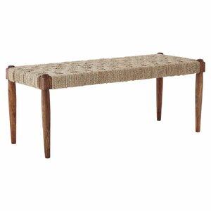 Gepolsterte Sitzbank Osage aus Holz von Sansibar..