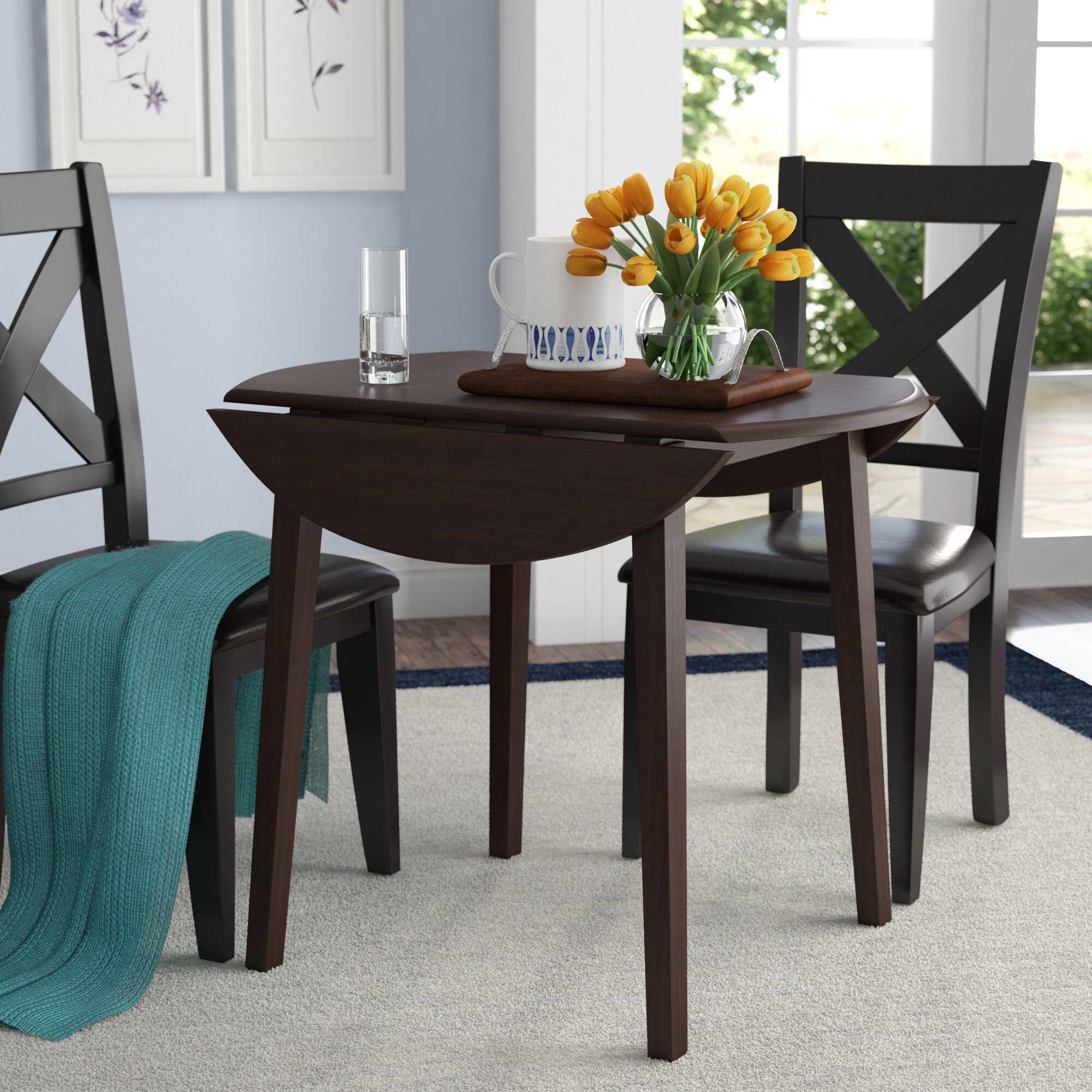 Andover Mills Milton Drop Leaf Dining Table Reviews