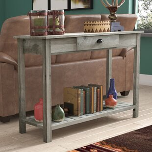 Metal Wood Console Tables Youll Love Wayfair