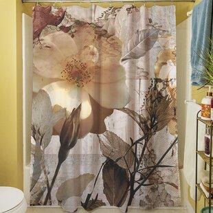 Superbe Gray Shower Curtain