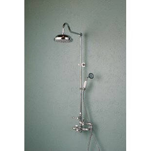 exposed pipe shower . Thermostatic Exposed Shower Set With Lever Handle And Rough In Valve Pipe  Wayfair