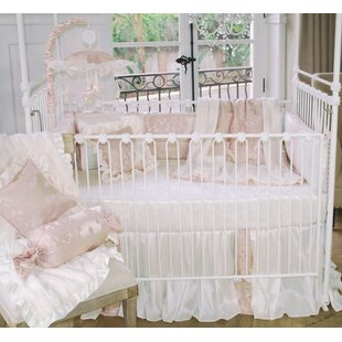 Blush Petal 3 Piece Crib Bedding Set