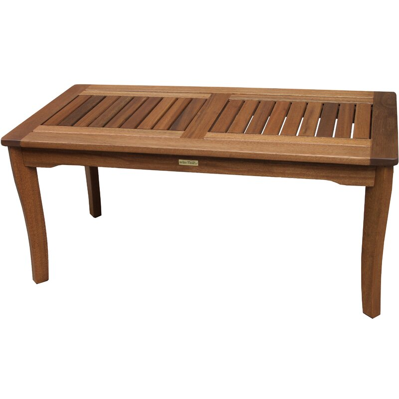 Roseland Solid Wood Coffee Table Reviews Joss Main