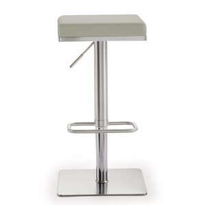 Fahad Adjustable Height Swivel Bar Stool by Wade Logan