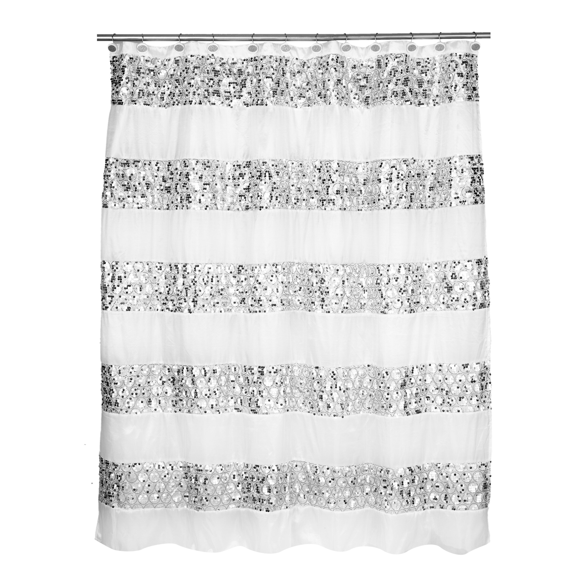 Willa Arlo Interiors Rivet Striped Shower Curtain Reviews