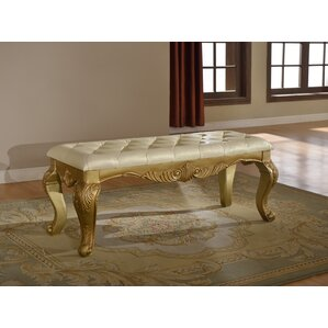 Burnett Upholstered Bench by Astoria Grand