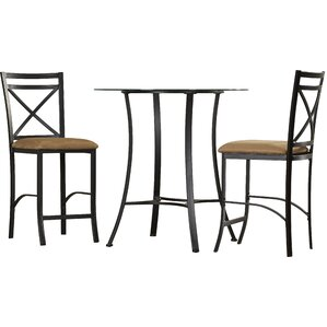 Boxwood 3 Piece Counter Height Dining Set by Andover Mills