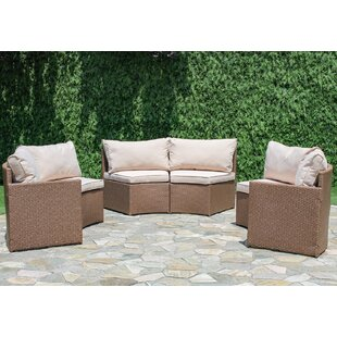 Sturbridge Curved Sectional With Cushions