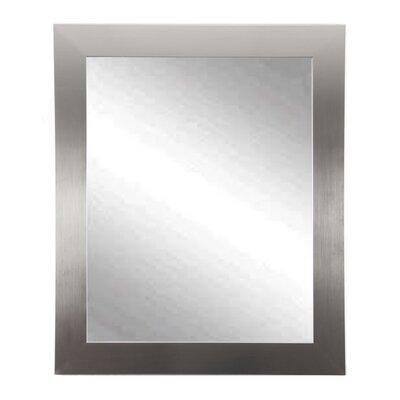 Brayden Studio Treiber Modern Wall Mirror Size: 50 H x 32 W x 0.75 D