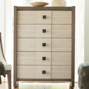 Antwi Dalke 5 Drawer Chest by World Menagerie