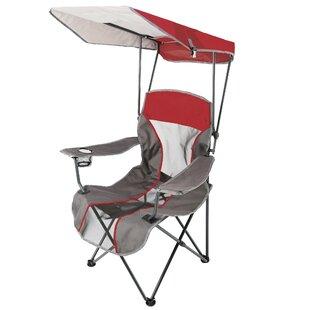 Premium Folding Beach Chair  sc 1 st  Wayfair & Folding Chair With Canopy | Wayfair