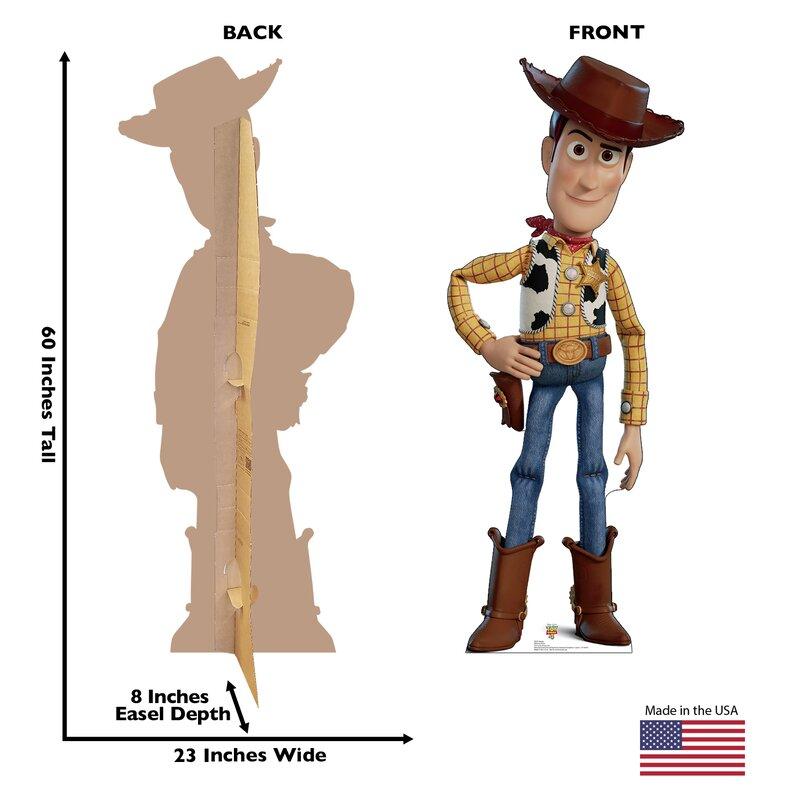 Woody Disney/Pixar Toy Story 4 Cardboard Standup