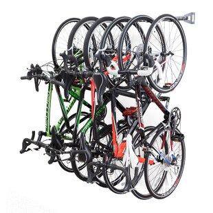 6 Bike Storage Wall Mounted Bike Rack 312e80691986