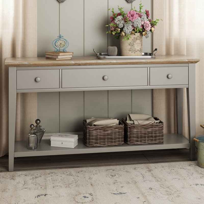 Window Console Table ~ Breakwater bay chatham console table reviews wayfair