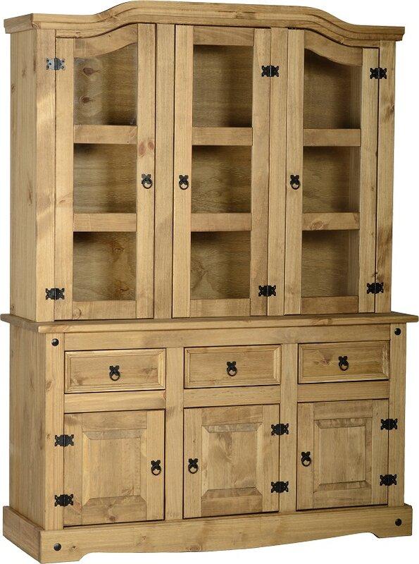 Andover Mills Corona Display Cabinet & Reviews | Wayfair.co.uk