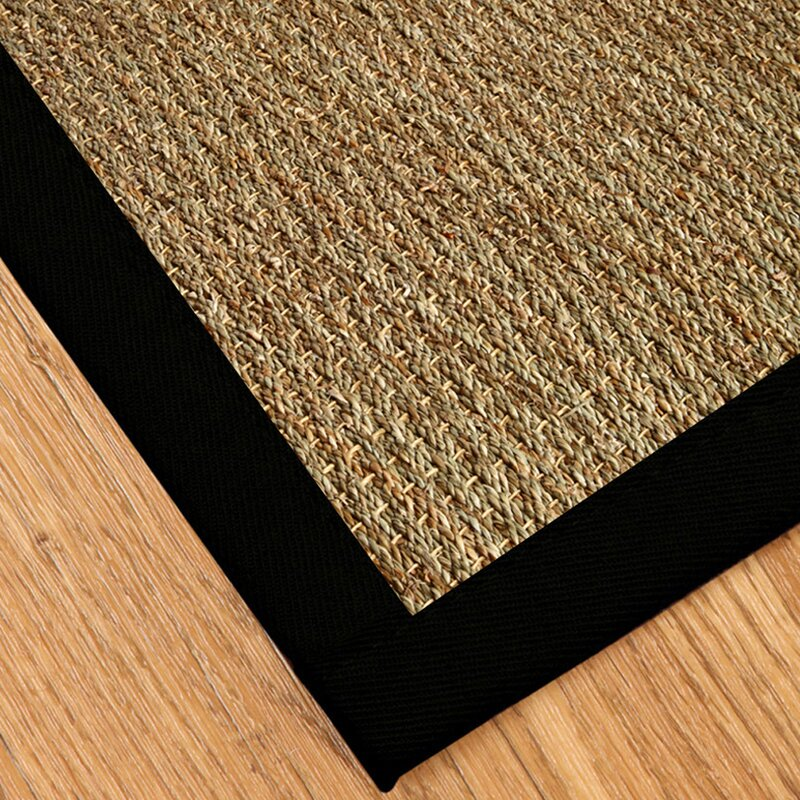 Black And Tan Area Rugs natural area rugs black mayfair area rug & reviews | wayfair