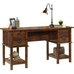 Wood office desk plans astonishing laundry room Craft Coyne Writing Desk Houzz Desks Joss Main