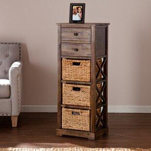 Stimson 2 Drawer Storage Chest 3 Basket Tower