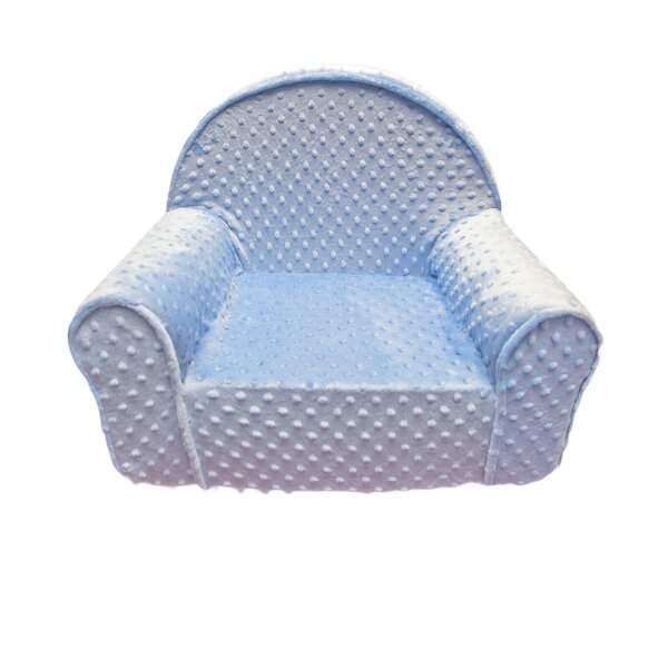Fun Furnishings Minky Dot Toddlers My First Kids Club Chair | Wayfair