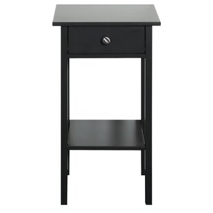 Tennessee 1 Drawer Bedside Table