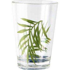 Bamboo Leaf 8 Oz. Acrylic Drinkware (Set of 6)