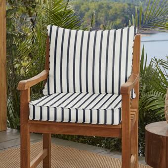 Indoor Outdoor Sunbrella Lounge Chair Cushion Reviews Birch Lane