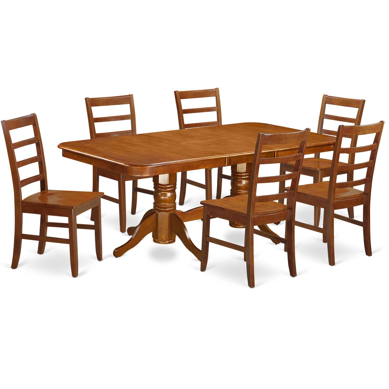 d171c65b28d6 August Grove Pillsbury Modern 7 Piece Wood Dining Set | Wayfair