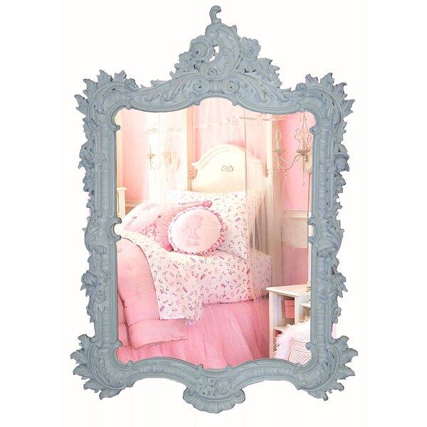 Ornate White Mirror | Wayfair