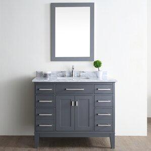bathroom vanity single sink. Danny 42  Single Bathroom Vanity Set Vanities You ll Love Wayfair