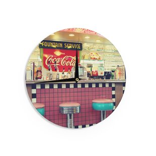 Retro Diner Wall Clock | Wayfair