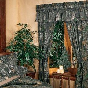 New Break Up Camouflage Rod Pocket Curtain Panels (Set of 2)