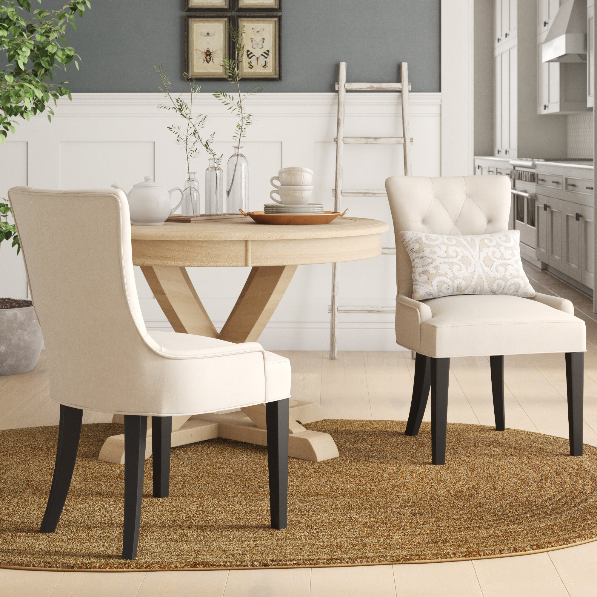 . Small Scale Dining Chairs   Wayfair