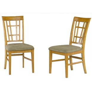 Tuers Solid Wood Dining Chair (Set of 2)
