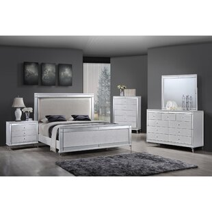 Guerrero Panel 5 Piece Bedroom Set