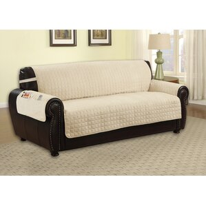 Microfiber Sofa Slipcover by R..