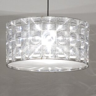 Modern contemporary replacement pendant shade allmodern lighthouse polycarbonate drum pendant shade aloadofball Choice Image
