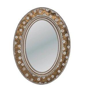 5cbfefcdcbf5 Colmenero Brass Accent Mirror. By Bungalow Rose