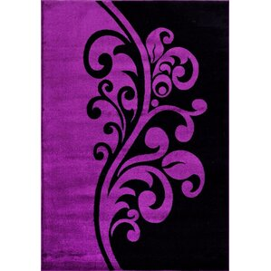 purple area rug