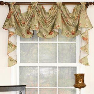 swag valances for windows extra long quickview swag curtains valances youll love wayfair